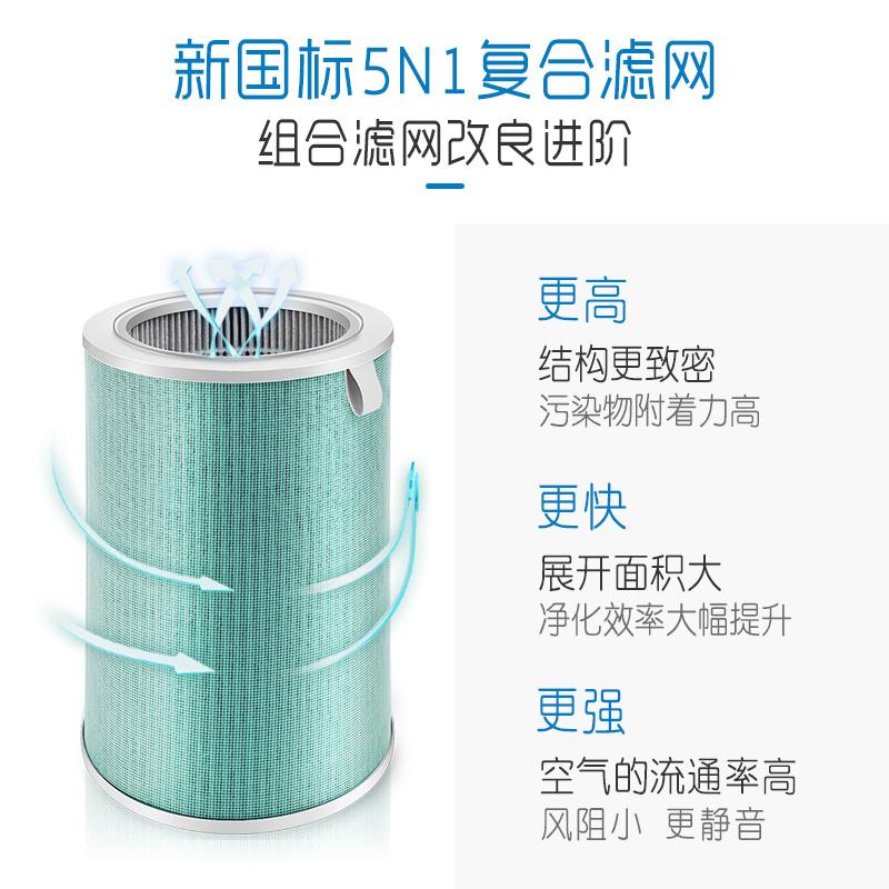 培康适配小米空气净化器滤芯1代2代pro米家滤网家用除甲醛版