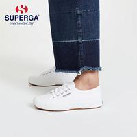 SUPERGA圣佩伽2750基础情侣款街拍百搭 小白鞋男女休闲平底帆布鞋