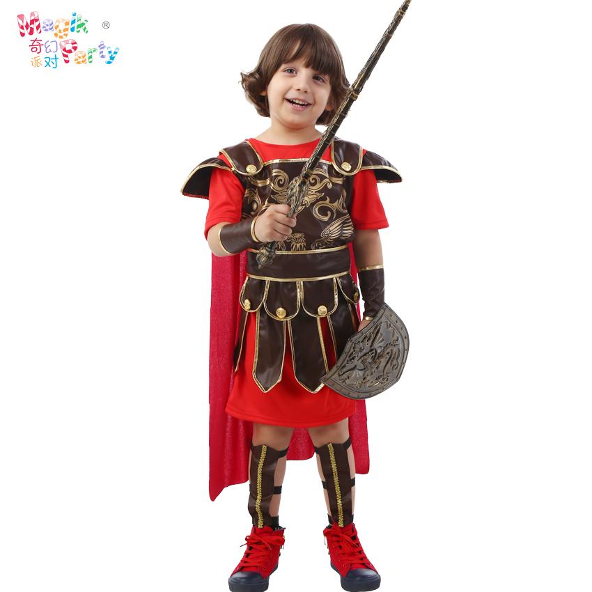 男童古罗马六一儿童节王子斯巴达儿童演出