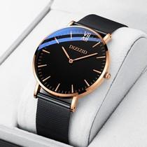 黑表盘日历橙色皮带人工动能手表GMT精工SUN055男表Seiko欧美代购
