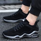 春季男鞋潮鞋气垫鞋子男透气韩版棉鞋男士休闲鞋跑步鞋冬季运动鞋
