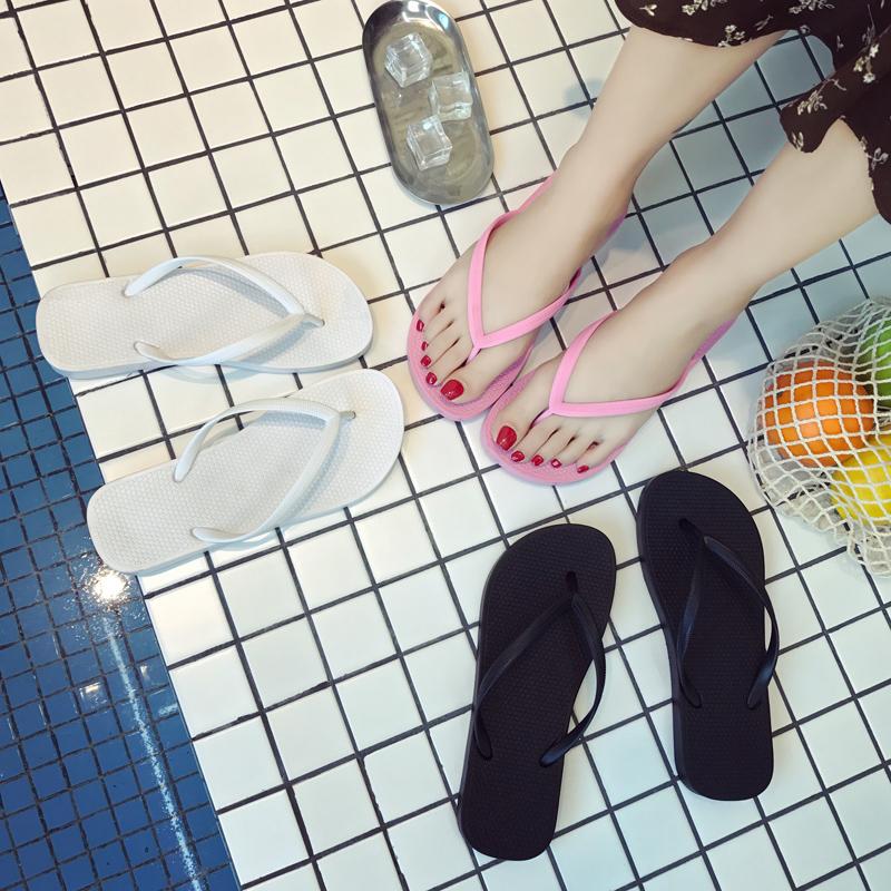 白色女士拖鞋