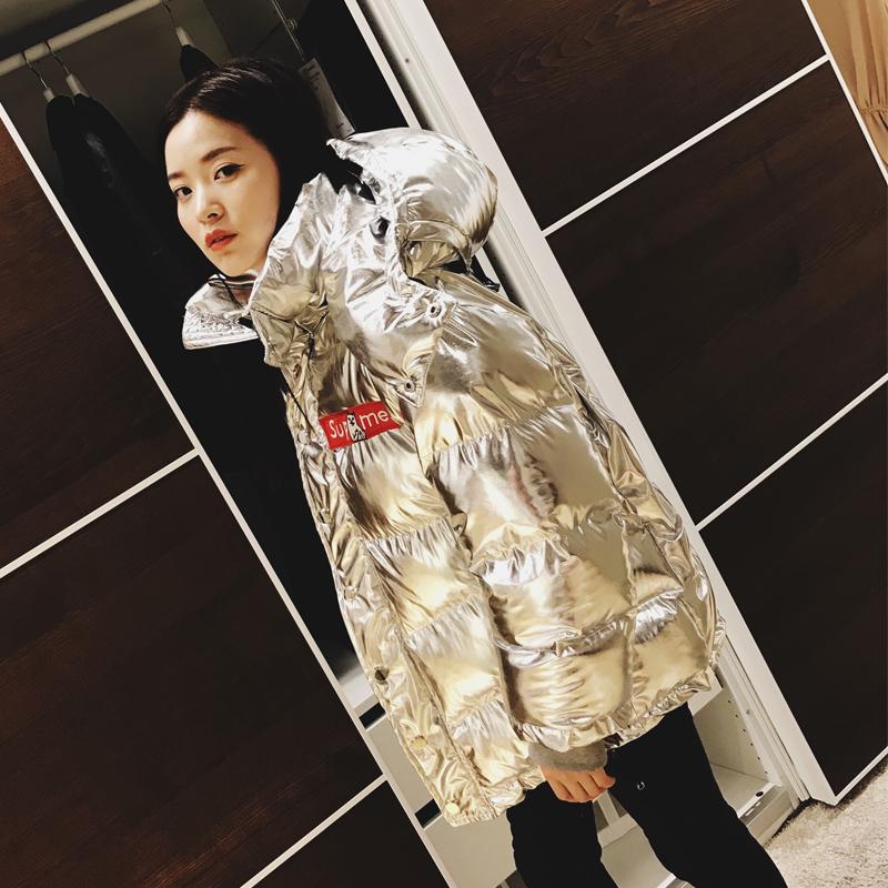 韩版棉服太空棉