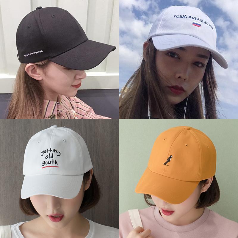 韩版嘻哈帽男春夏情侣棒球帽