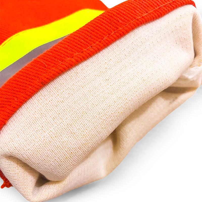 消防手套耐高温加厚97式隔热阻燃手套防滑消防绳配套手套消防器材
