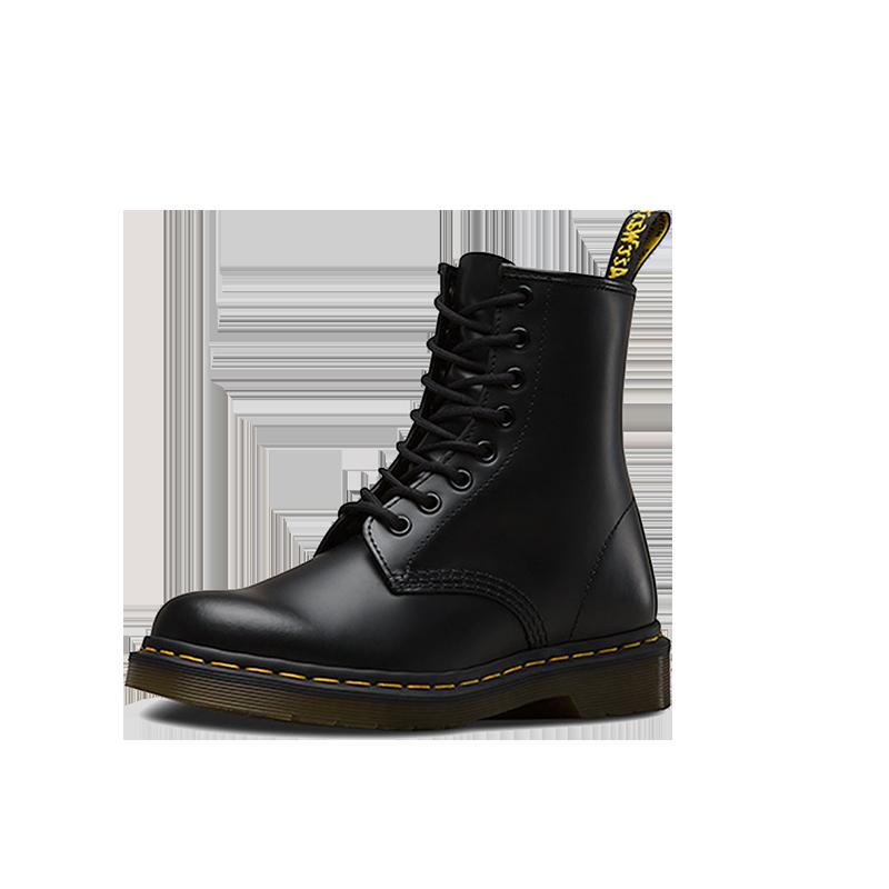 Dr.Martens马汀博士1460经典款光面8孔马丁靴明星同款英伦风短靴