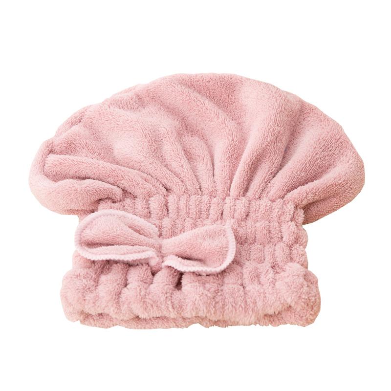 干发帽女浴帽吸水速干日本可爱包头巾加厚干发巾短长发擦头发毛巾