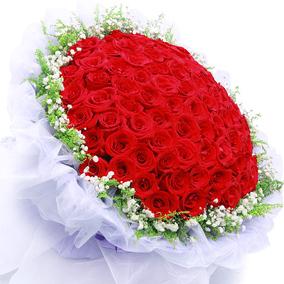 阳江鲜花同城速递红玫瑰花束礼盒江城区阳春市表白女友生日送花店