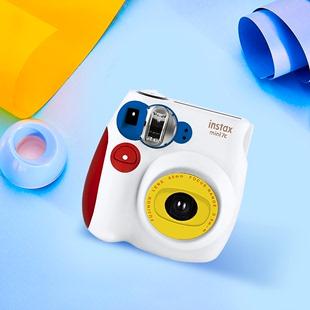 mini7一次成像照相套餐含相纸升级傻瓜学生女生 拍立得相机mini7c