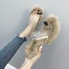 女式细跟凉拖鞋