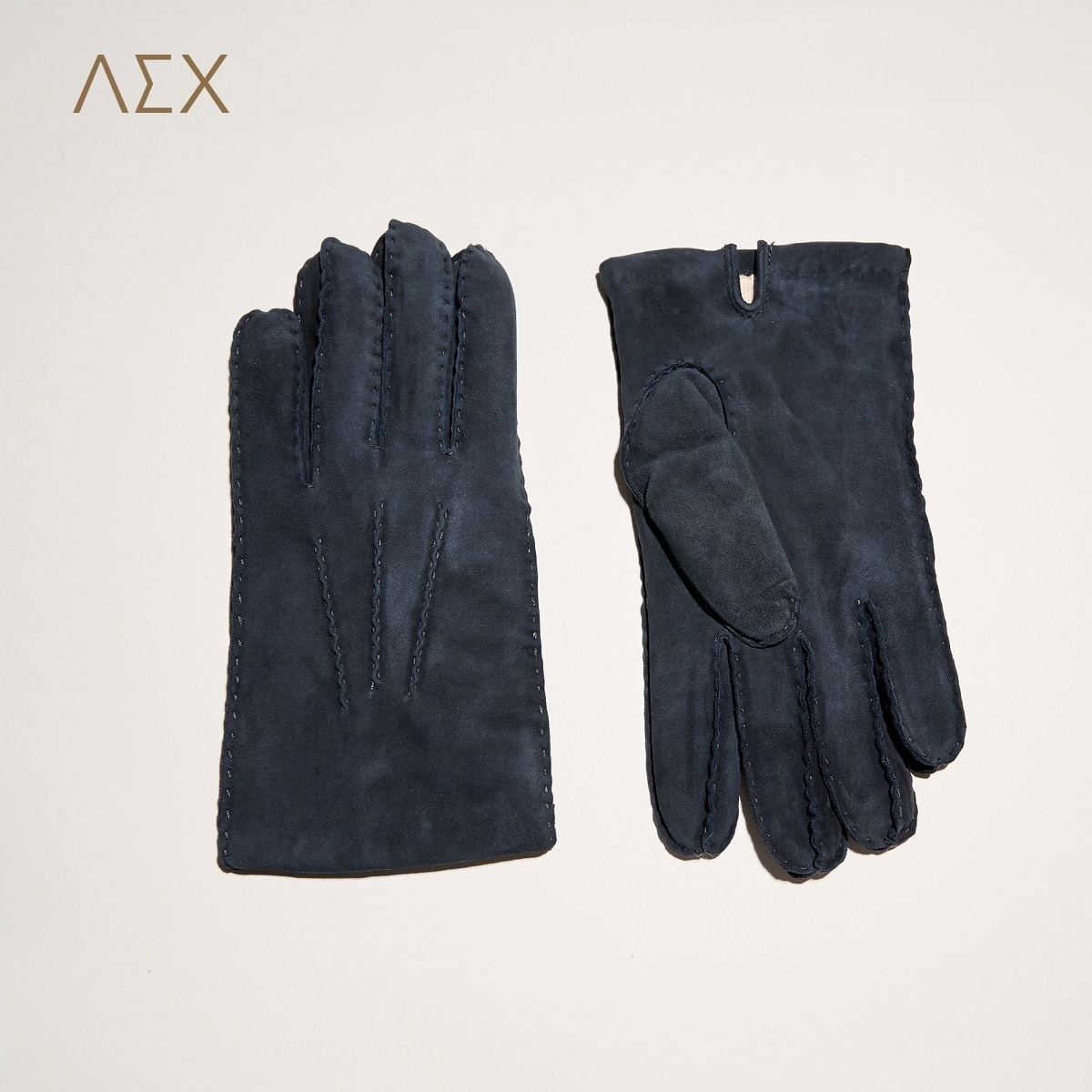 Мужские перчатки из овчины Артикул 576978316076