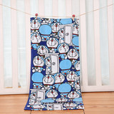 Blue Fat Duo La Love Dream Pure Cotton Cute Cartoon Towel Family Wash Face Towel Wipe Face Towel Soft Water Absorption
