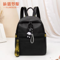 2018 new shoulder bag female Oxford cloth Korean tide wild backpack fashion casual bag female bag travel bag