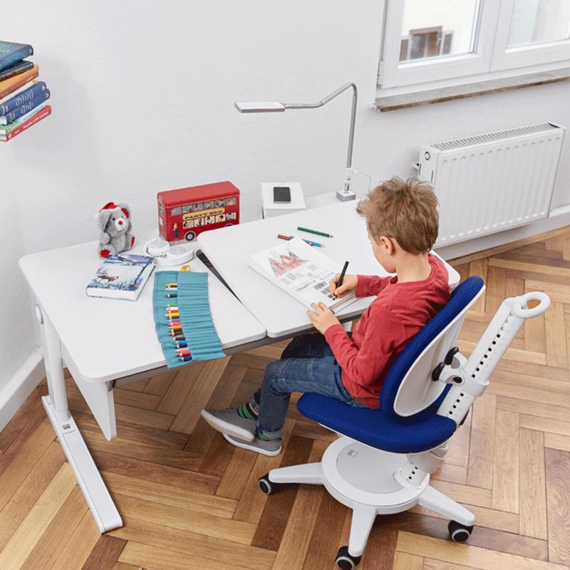 德国摩尔moll Champion冠军儿童学习桌家用学生书桌写字学习桌