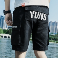 青少年工装裤男夏季
