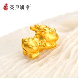 Tianshi legend foot gold 貔貅 baby 3d hard gold accessories - CYY