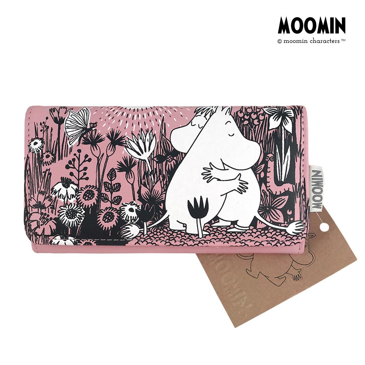 姆明Moomin官方 姆明卡通长款钱包 英国Disaster Designs进口包邮