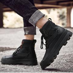 男士黑色棉鞋
