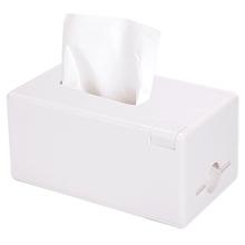 多功能含牙签筒纸巾盒 家用桌面整理简约收纳储物 MINISO名创优品