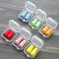 Korean version of the cute candy color noise-proof male and female learning to eliminate the mute anti-snoring sleep sleep sound earplugs