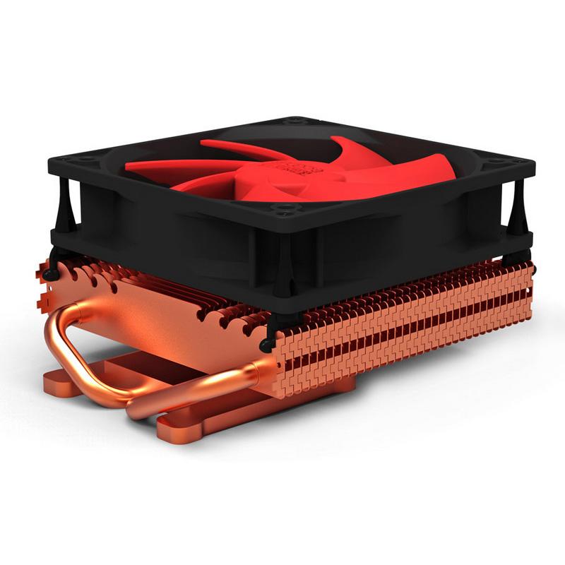 超頻三小海增強版K101D顯卡散熱器 靜音通用型   熱管顯卡風扇