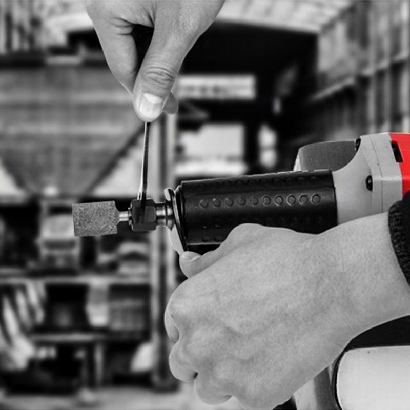 KEN锐奇电磨机9025电磨头550W直磨机根石雕刻直柄内磨机模具电磨