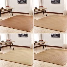 日式夏季客厅卧室地毯瑜伽藤席凉席榻榻米地垫四季儿童爬行垫床垫图片