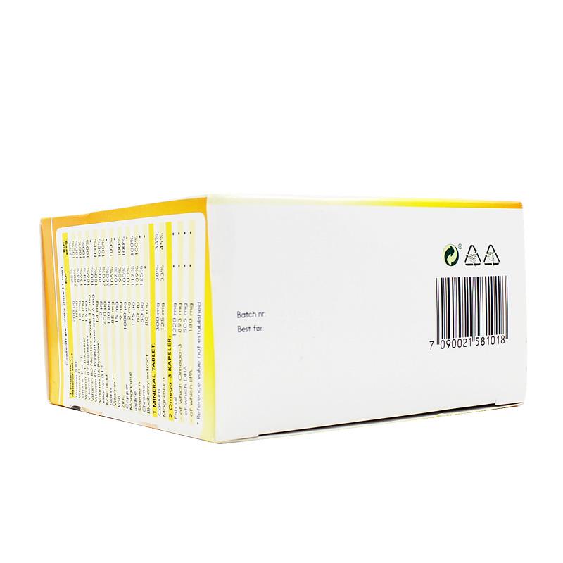 挪威Lifeline care怀孕备孕孕期营养素 综合维生素矿物质120粒/盒