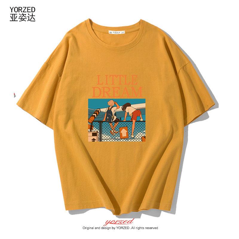 短袖T恤女2019新款短款韓版潮流女學生可愛bf風打底寬松百搭上衣
