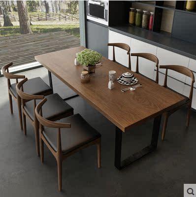 铁艺桌子长方形饭桌哪款好