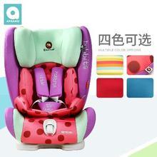 apramo安途美9个月-12岁车载儿童婴儿宝宝安全座椅汽车用