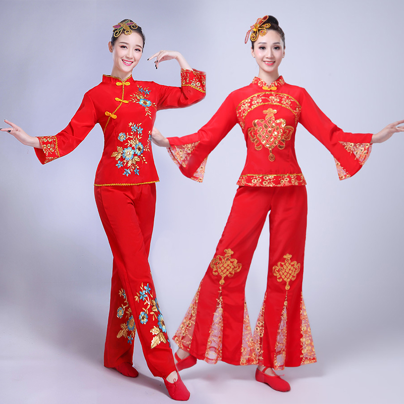 广场舞民族服装
