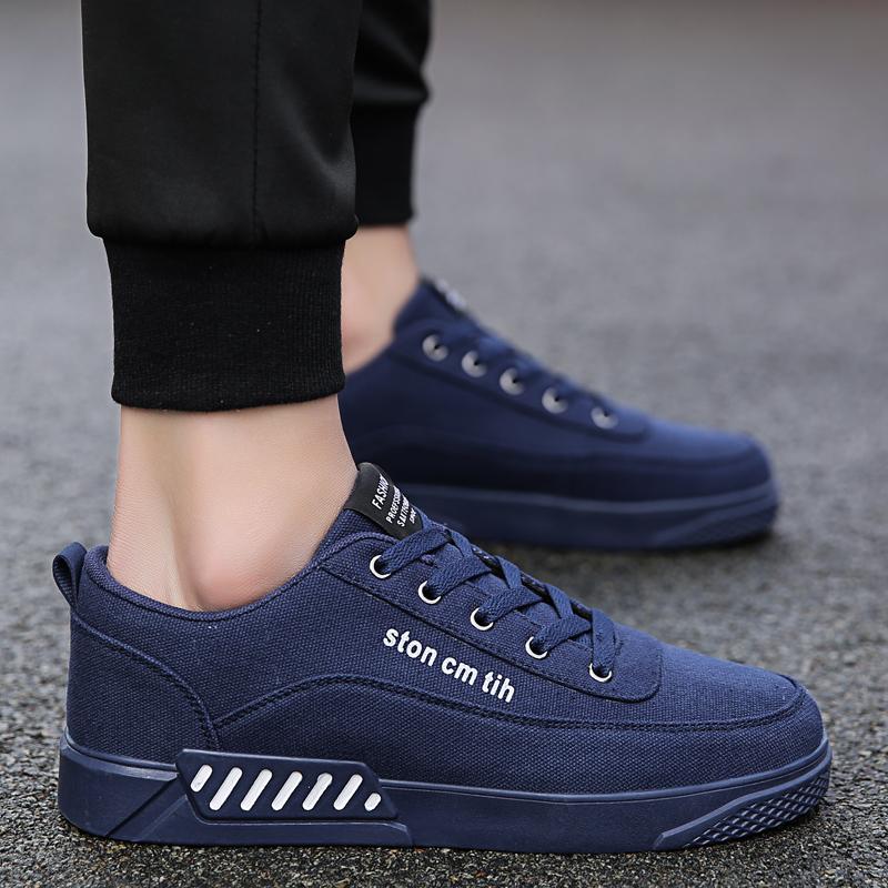 板鞋深蓝色