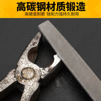 Scythe steel truss metal woodworking fitter scorpion knives flat high carbon steel flat semicircle triangle round set trowel