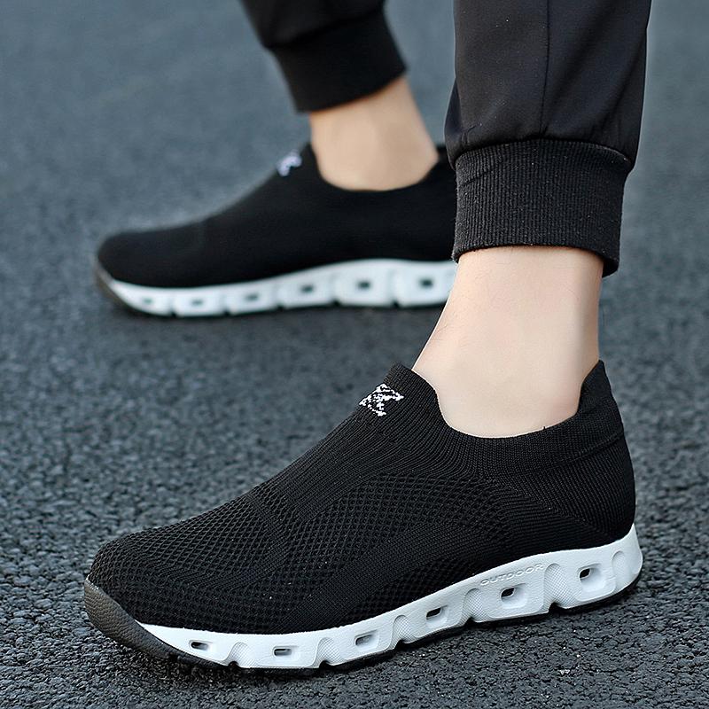 乔丹夏天板鞋特大码网鞋45轻便男鞋46加宽大号47透气休闲跑步鞋潮