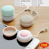 Portable mobile phone hanging screen wipe cloth ball cleaning wipe glasses SLR lens wipe screen clean ball