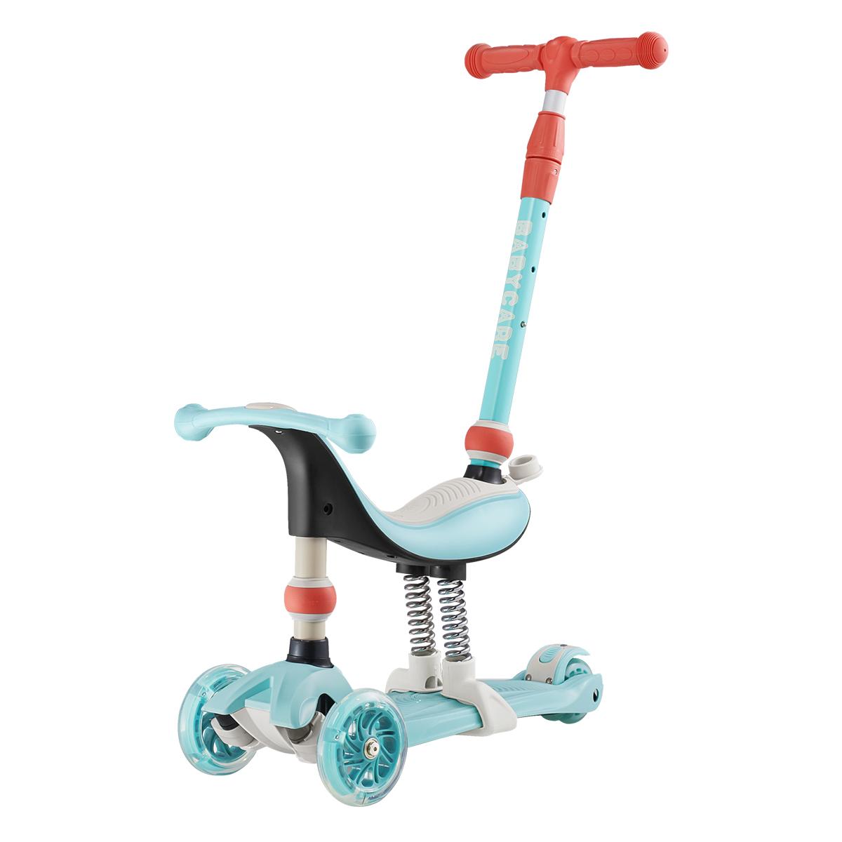 溜溜车自营babycare单脚踏儿童滑板车