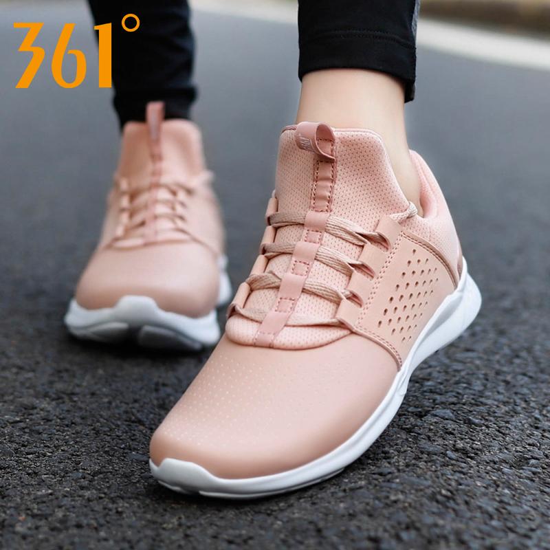 361运动鞋女秋季跑步鞋2019冬季革面休闲透气跑鞋秋冬季学生女鞋