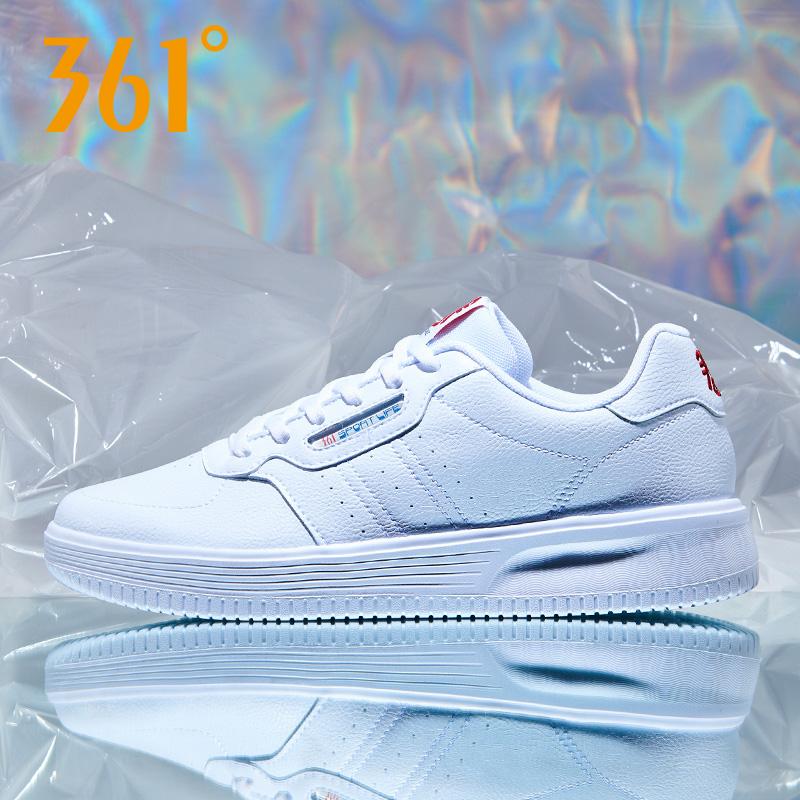 361度女鞋小白鞋2019冬季新款休闲运动鞋潮流滑板鞋女