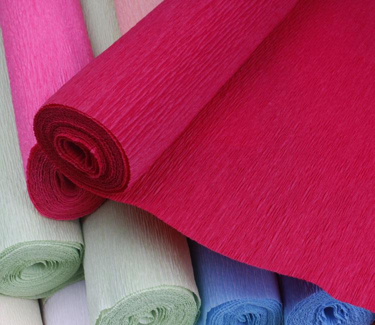 皱纹套装手工材料包彩色玫瑰diy手揉的褶皱折纸花初学者学生