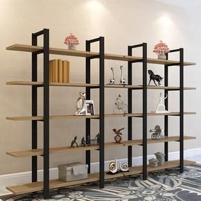 特价客厅创意储物收纳书架简约现代搁板置物架层架落地墙壁架铁艺