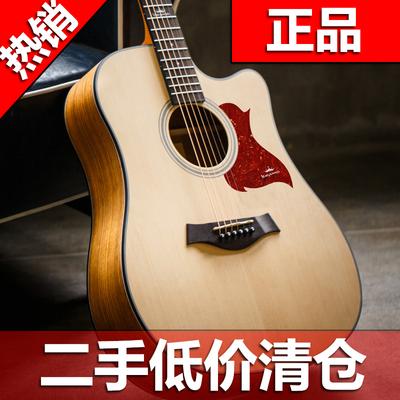 卡马吉他初学者入门新手练习学生女电箱民谣saga单板木吉他二手优惠券