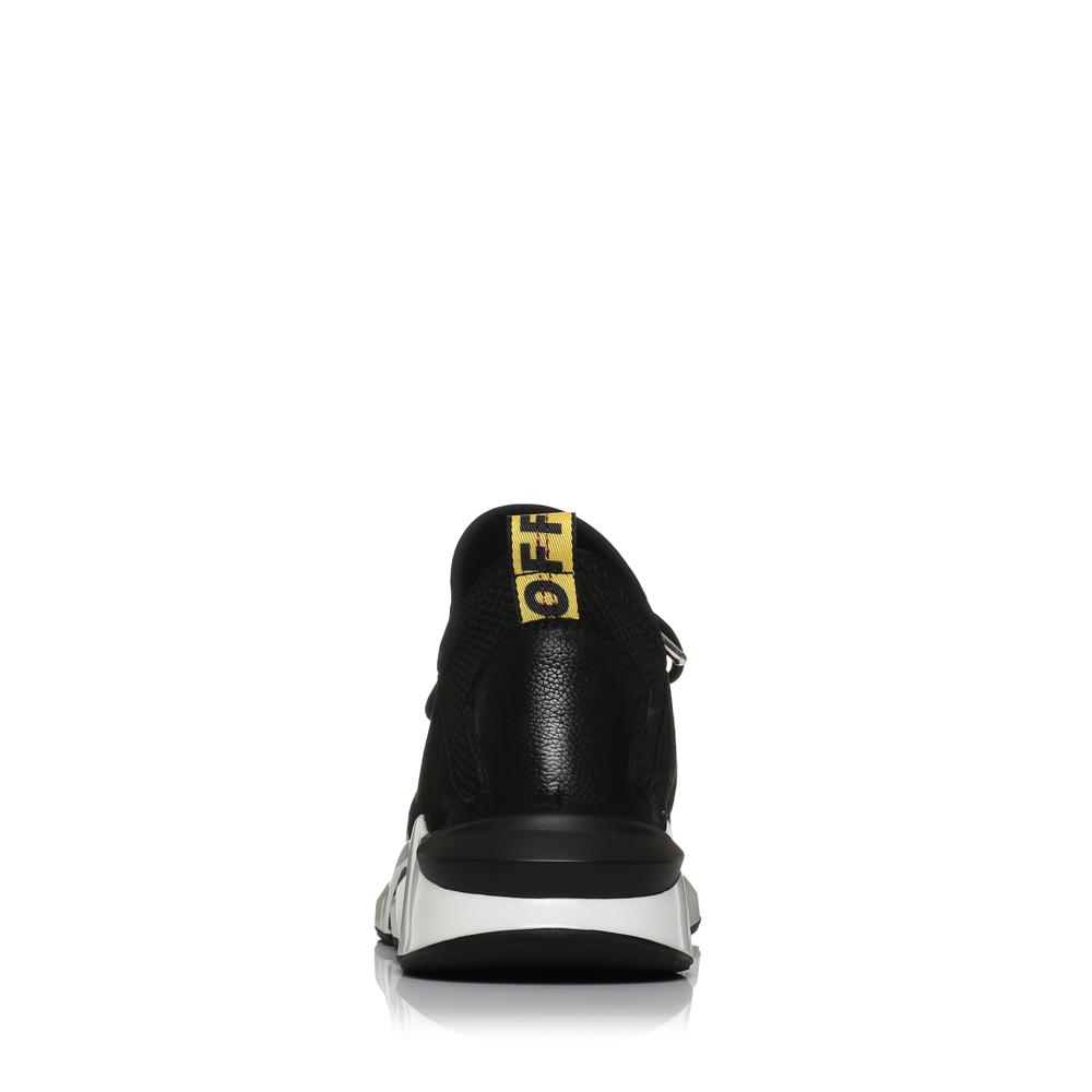 天美意2018春季新款专柜同款织物/牛皮运动鞋男鞋2FS01AM8