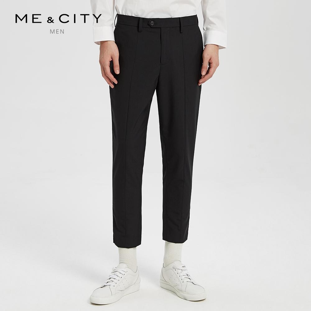 纯羊纯裤男薄款