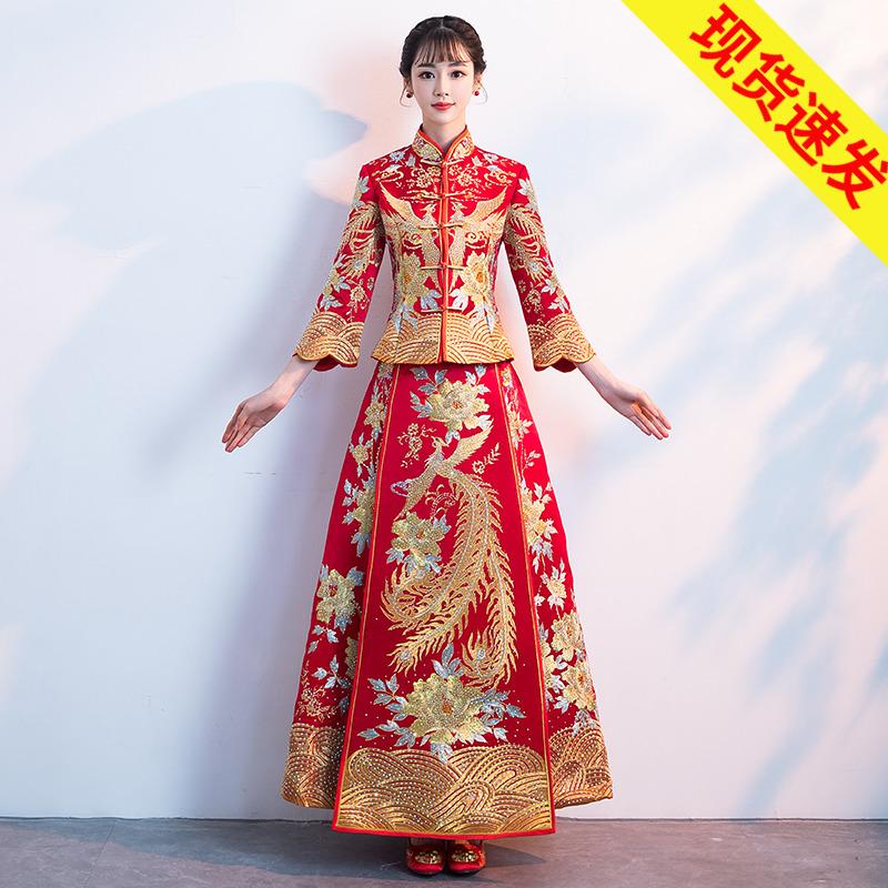 龙凤褂新娘旗袍