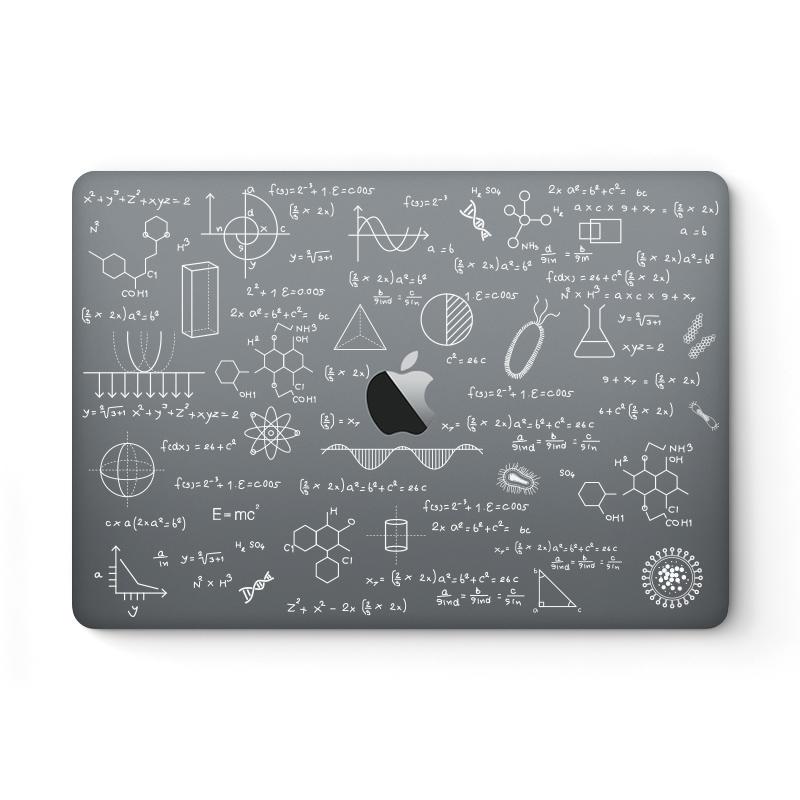 SkinAT 苹果笔记本外壳保护贴膜 MacBook Air13 创意贴纸Mac Reinta Pro 15电脑配件 Mac 12炫彩贴