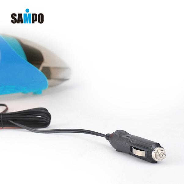 Sampo新宝车载吸尘器便携式强吸力12V车用吸尘器干湿两用