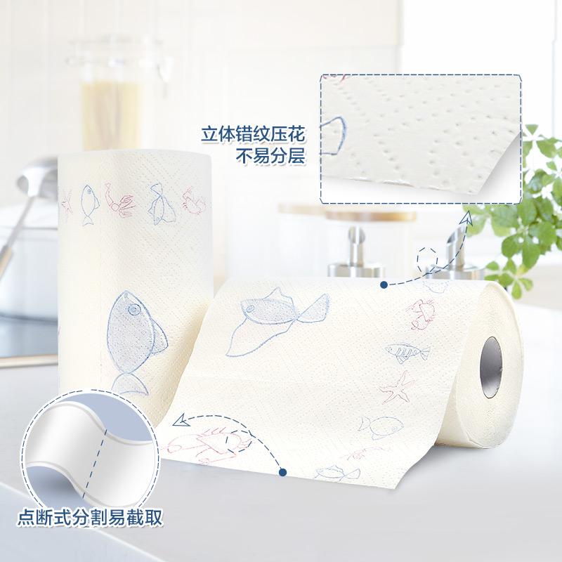 心相印厨房用纸纸巾厨房纸吸油纸厨房专用纸餐巾纸吸油纸吸水纸纸