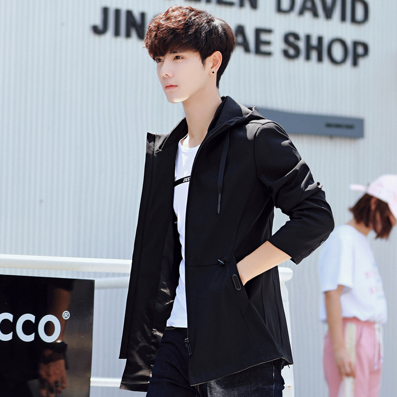 纯黑色夹克