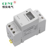 380v 小型时控定时开关家用电气电机广告灯自动通断时间控制器220